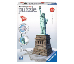 Ravensburger Puzzle 3D Statua Wolności (125845)