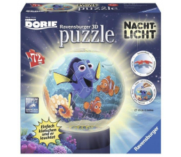 Ravensburger Puzzle 72el Gdzie jest Dory, lampka (PU-6636)