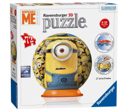 Ravensburger Puzzle kuliste 72el Minionki (PU-5976)
