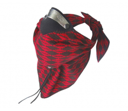 Respro Bandit Scarf Red Black (Bandit Scarf Red Black)