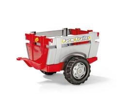 Rolly Toys Przyczepa Farm czerwona (4006485122097)