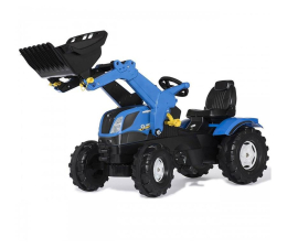 Rolly Toys Traktor Farmtrac New Holland z łyżką (4006485611256)