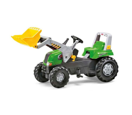 Rolly Toys Traktor Junior zielony z łyżką (4006485811465)