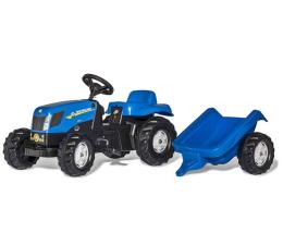 Rolly Toys Traktor New Holland z przyczepą (4006485013074)