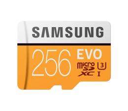 Samsung 256GB microSDXC Evo zapis 90MB/s odczyt 100MB/s (MB-MP256GA/EU)