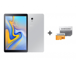 Samsung Galaxy Tab A 10.5 T595 3/32GB LTE Silver + 32GB (SM-T595NZAAXEO+MB-MP32GA/EU)