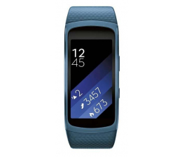 Samsung Gear Fit 2 (S) SM-R3600 niebieski (SM-R3600ZBNXEO)