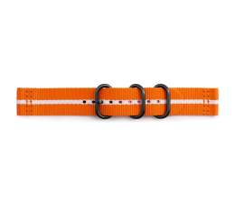Samsung Premium Nato Strap do Gear Sport Orange-White (GP-R600BREECAG)