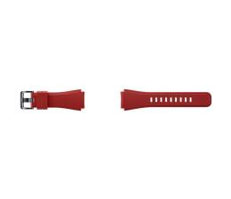 Samsung Silikonowy pasek do Galaxy Gear S3 Czerwony (ET-YSU76MREGWW)