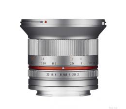 Samyang 12mm F2.0 NCS CS mikro 4/3 srebrny