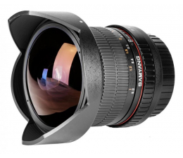 Samyang 8mm F3,5 FISH EYE CS II Canon