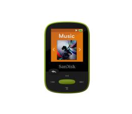 SanDisk Clip Sport 8GB Lime (microSD, słuchawki, FM, LCD) (SDMX24-008G-G46L / SDMX24-008G-G46LP)