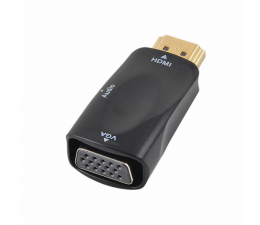 SHIRU Adapter HDMI do VGA + audio (SAHV-02)