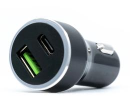 Silver Monkey Ładowarka samochodowa USB-C, 3A, PD, QC 3.0 (QC-PDM-SM)