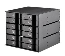 SilverStone 12x2.5'' HDD/SSD SATA (SST-FS212B)