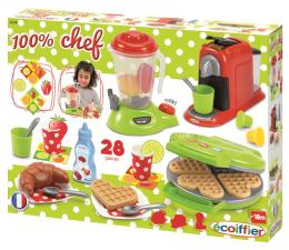 Simba Ecoiffier 100% Chef Zestaw Akcesoriów Kuchennych (7600002624)