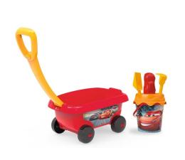 Smoby Disney Cars Wózek z akcesoriami do piasku  (3032168670006)