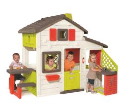 Smoby Domek Friends House z dzwonkiem i kuchnią (3032168102002)