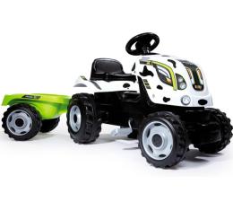Smoby Traktor XL krówka z przyczepą  (3032167101136)