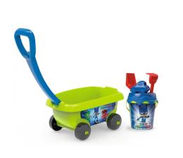 Smoby Wózek z akcesoriami do piasku Pidżamersi (3032168670068)