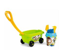 Smoby Wózek z akcesoriami do piasku Toy Story (3032168670105)