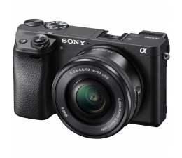 Sony A6300 + 16-50mm czarny