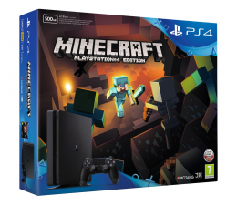 Sony PlayStation 4 500GB Slim + Minecraft (D Chassis)