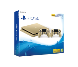Sony PlayStation 4 500GB SLIM Złota + PAD (D Chassis)