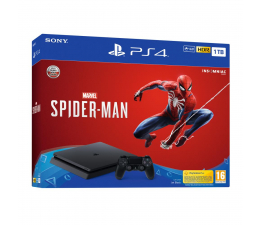 Sony Playstation 4 Slim 1TB + Spider-Man (711719734116)