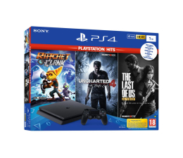 Sony Playstation 4 Slim 1TB + Zestaw PS Hits