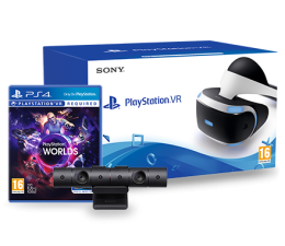 Sony PlayStation VR + Camera + VR Worlds