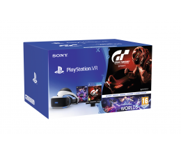 Sony PlayStation VR Gran Turismo Sport+Camera+VR Worlds (711719953265)