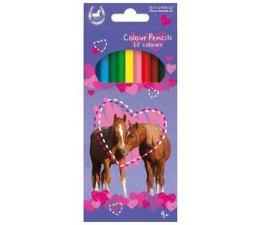 Starpak Kredki ołówkowe Horses (5901350225592)