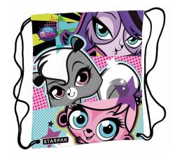 Starpak Worek szkolny na ramię Plecak Littlest Pet Shop (5902012768952)