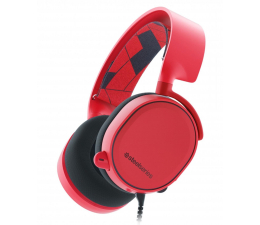 SteelSeries Arctis 3 Czerwone (61435)