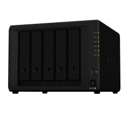 Synology DS1019+ (5xHDD, 4x1.5-2.3GHz, 8GB, 2xUSB, 2xLAN) (DS1019+)