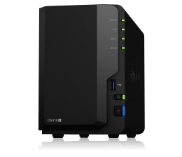 Synology DS218+ (2xHDD, 2x2-2.5GHz, 2GB, 3xUSB, 1xLAN) (DS218+)