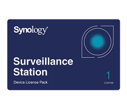 Synology Licencja Camera License Pack (1 dodatkowa kamera) (CAMERA LICENSE PACK (X 1))