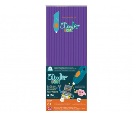 TM Toys 3Doodler wkład jednokolorowy punk fiolet (DODECO21)