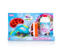 TM Toys Bańki Fru Blu Zestaw Miotacz Baniek +0,5 l płynu