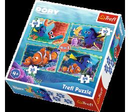 Trefl  4w1 Podwodne zabawy - Dora (34259 )