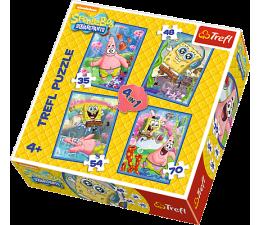 Trefl 4w1 SpongeBob i Patryk (34264)