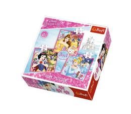 Trefl Disney Princess  Zaczarowany świat księżniczek 3w1 (34833)