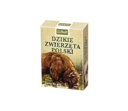 Trefl Karty do gry Dzikie zwierzęta Polski  (GR-6451 K14920)