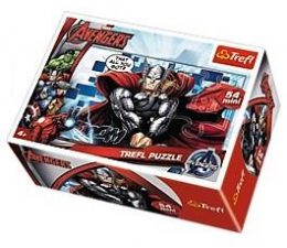 Trefl Mini Puzzle Drużyna Avengers 19497 (19497)