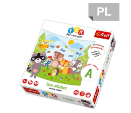 Trefl ZOO Alfabet gra Fun for everyone (GR-6343 24009)
