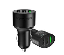 Tronsmart Ładowarka samochodowa 3 x USB 42 W QC 3.0 (C3PTA)