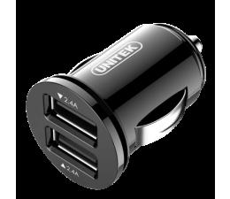 Unitek Ładowarka samochodowa 2 x USB 4,8A 24W (Y-P540)