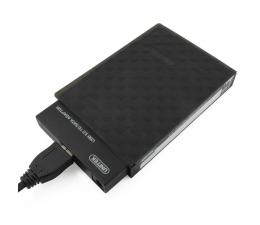 """Unitek Mostek USB 3.0 + obudowa do dysku 2.5"""" (czarny) (Y-1039B)"""