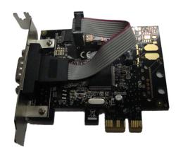 Unitek PCI Express Kontroler 1x RS-232 Low Profile (Y-7502)